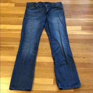 Lucky 361 Vintage Straight cut stone washed jeans